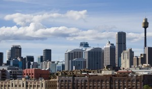 City of Sydney view